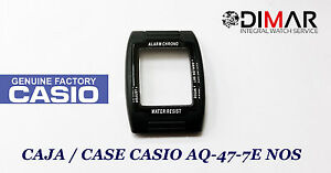 Watches, Parts & Accessories Vintage Case/cassa Casio Aq-47-7e Nos Complete In Specifications