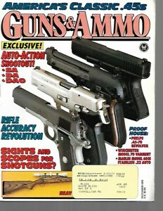 Guns & Ammo Handguns Magazine December 1993 Class .45s, Phelps .45-70 Revolver