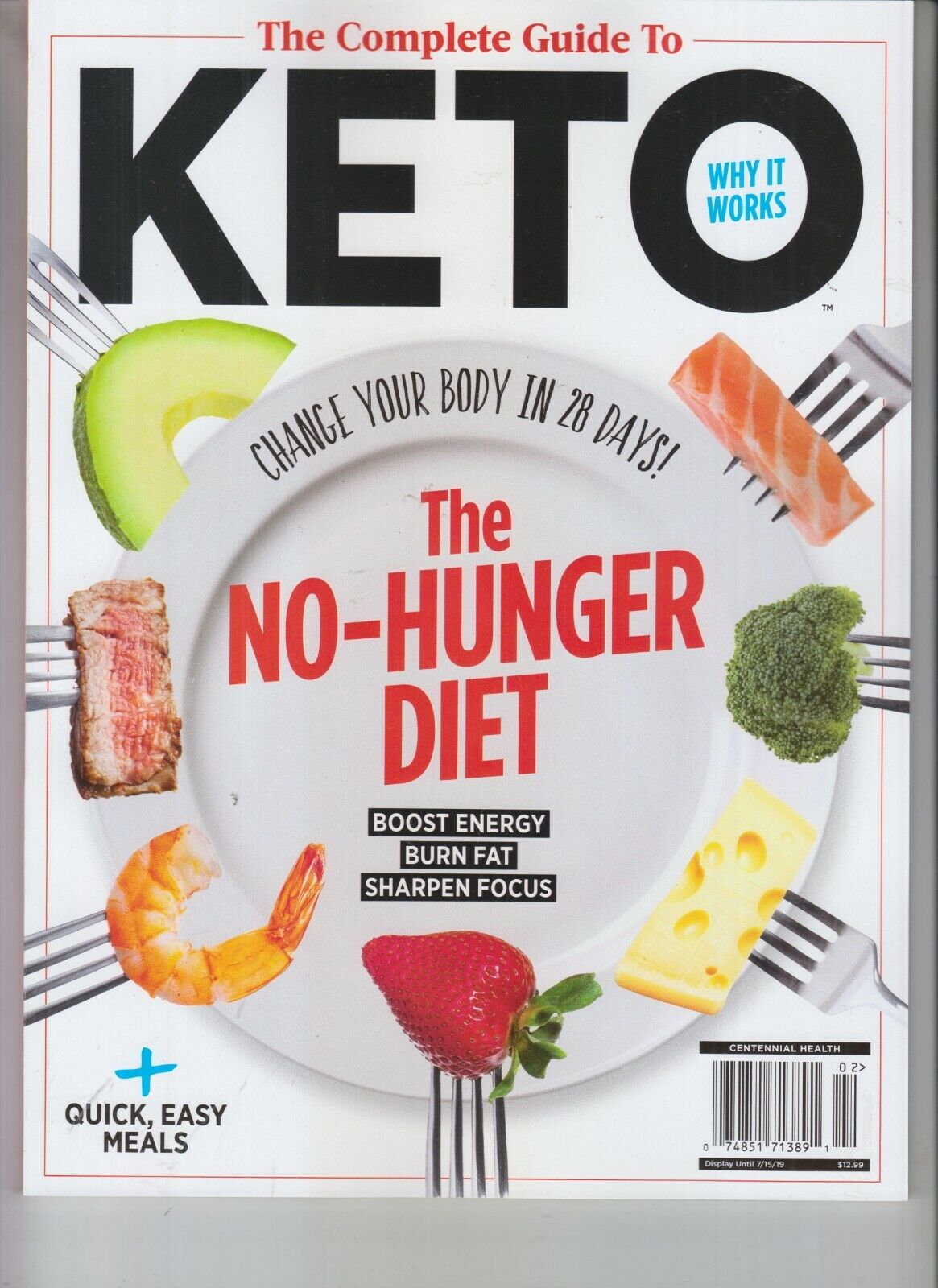 Complete Guide To Keto No Hunger Diet Centennial Health Magazine