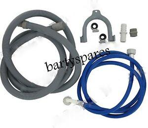 Washing-Machine-Hose-Water-Fill-Pipe-Drain-Outlet-Hose-Extension-Kit-2-5-Metre