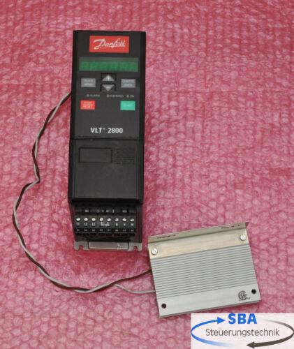 DANFOSS VLT 2800 vlt2805pt4b20sbr1dbf00a00//potenza 0,55 Kw TOP!!!
