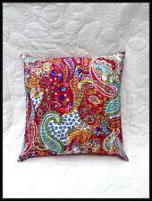 Set of 5 Pillow Cover Throw Kantha Cushion Indian Pillows