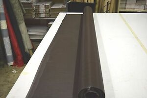 Image Is Loading TEXTILENE 90 BROWN SOLAR SCREEN FABRIC