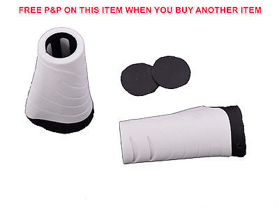 Ergonomic Rubber MTB Mountain Bicycle Handlebar Grips Cycling Lock-On Ends HS