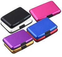 Waterproof Business ID Credit Card Wallet Holder Aluminum Case Box New