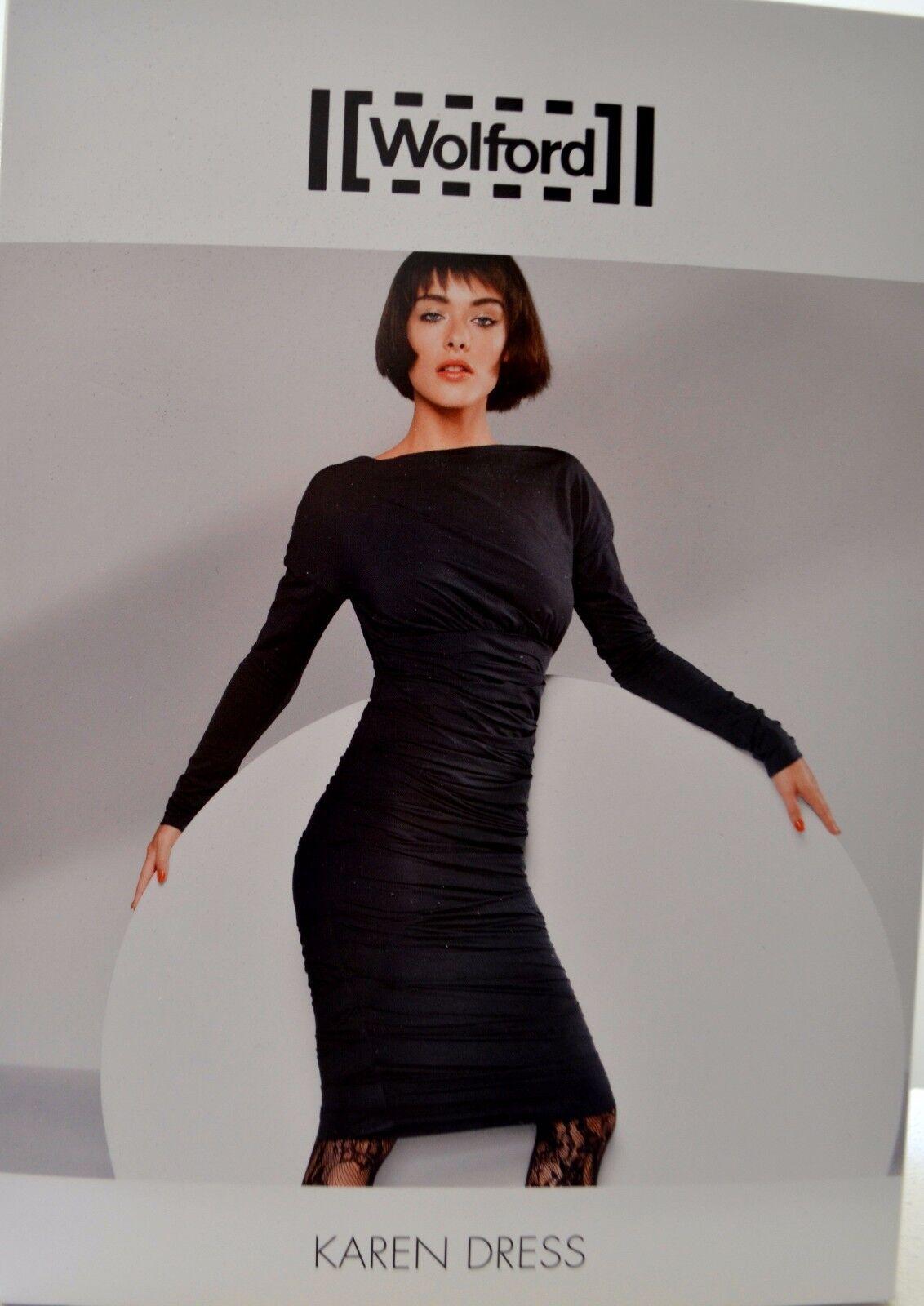 Wolford Karen Dress Kleid schwarz schwarz M Medium Empire-Stil