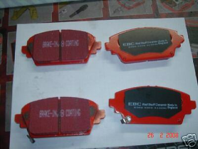 ROVER MG ZR ZS BRAKE PADS EBC RED STUFF FRONT NEW