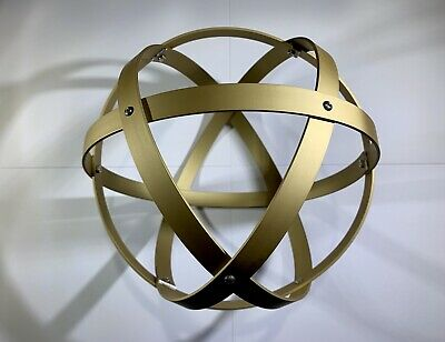 Genesa Crystal diametro 16 cm alluminio satinato argento profilo 1,2 cm