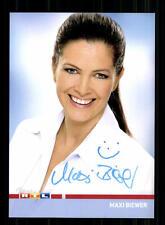 Maxi Biewer RTL Autogrammkarte Original Signiert # BC 84962