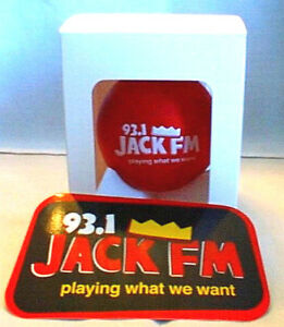Christmas Radio Station.Details About Los Angeles Radio Station Jack Fm 97 1 Christmas Tree Ornament And Bumper Sticke