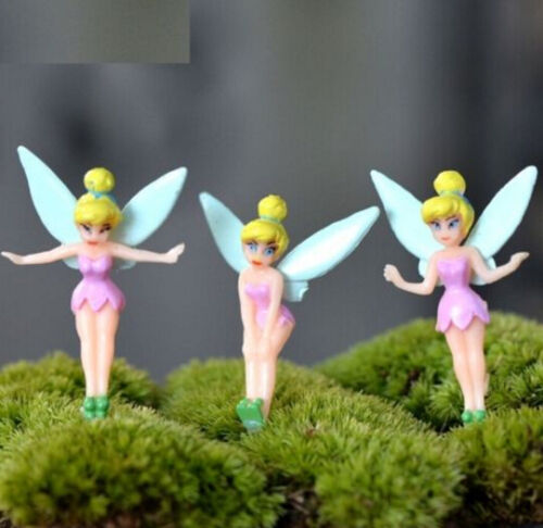 FD2849 Cute Spirit Miniature Dollhouse Ornament Flower Pot Aquarium Craft 1pc ♫