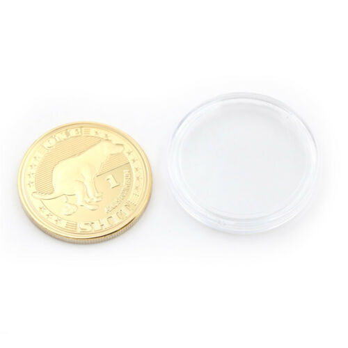 Gold Plated Lucky Dogshit Commemorative Coin Souvenir Coin Funny Gifts FE