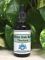 White Oak Bark Tincture Extract Organic Quercus Alba Herb Ecstatic Earth