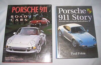 Porsche 911 Story by Frere & Porsche 911 Road Cars by Adler Hardback