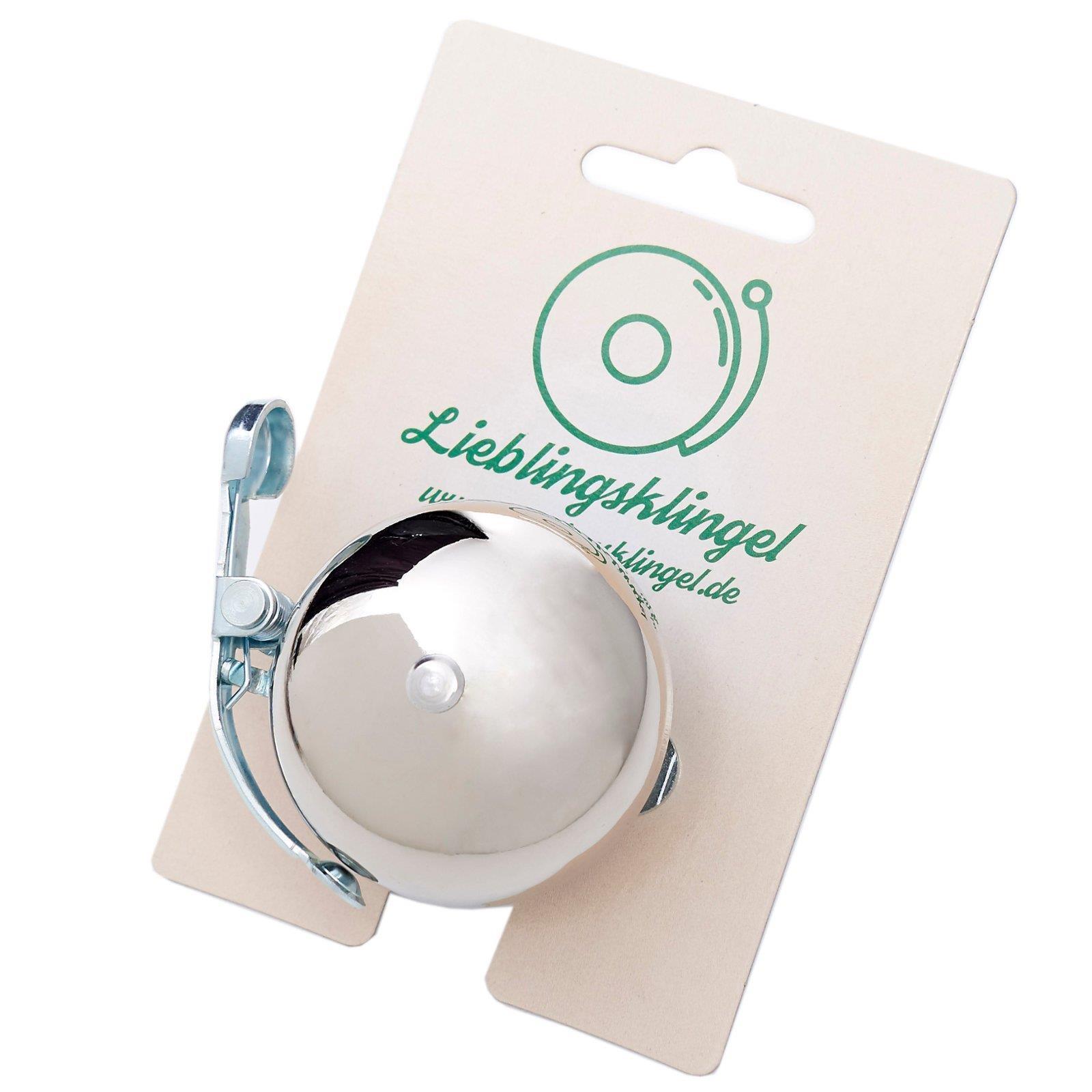 Lieblingsklingel Lieblingsklingel Lieblingsklingel mini bicicleta timbre Ø 50 mm campana Bell compacto parece cromado 6e0f30