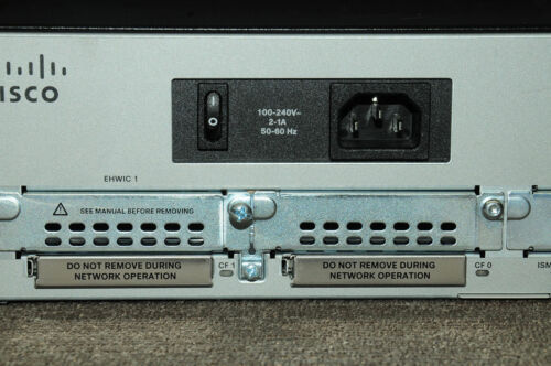 CISCO1941-SEC//K9 w// securityk9 license Router Latest IOS SPA.155.M3 1YrWty