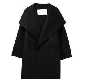 Black Nwt Moon F Cashmere Shawl Women's 'minusey' Handmade Coat Paper 06Tw0qrp