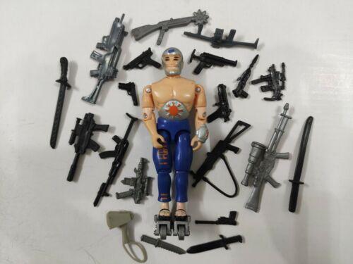 """3.75/"""" Gi Joe o corpo Soldier #602 com 5pcs Boneco De Ação Acessório Raro"""