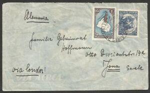 ARGENTINA-to-GERMANY-1936-Via-LATI-Cover-VF