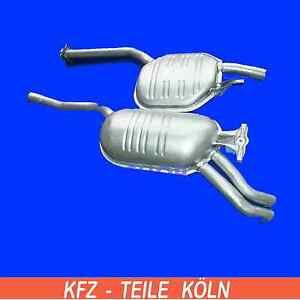 MERCEDES-W124-250TD-300TD-Silencieux-central-silencieux-Echappement