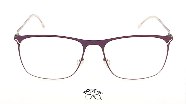 Orginal MYKITA Brille Brillenfassung Lite Madita Farbe 206 berry matt
