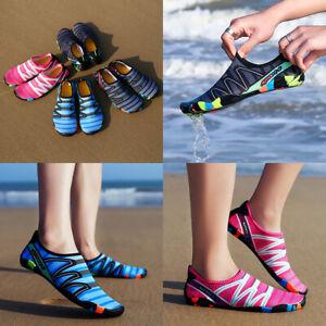 Womens Water Shoes Quick Drying Aqua Beach Surf Sports Casual Walking Shoes US11