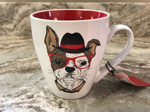 Your Choice Red Inside 16 Ounce New. Different Models Cool Dog Coffee Mug