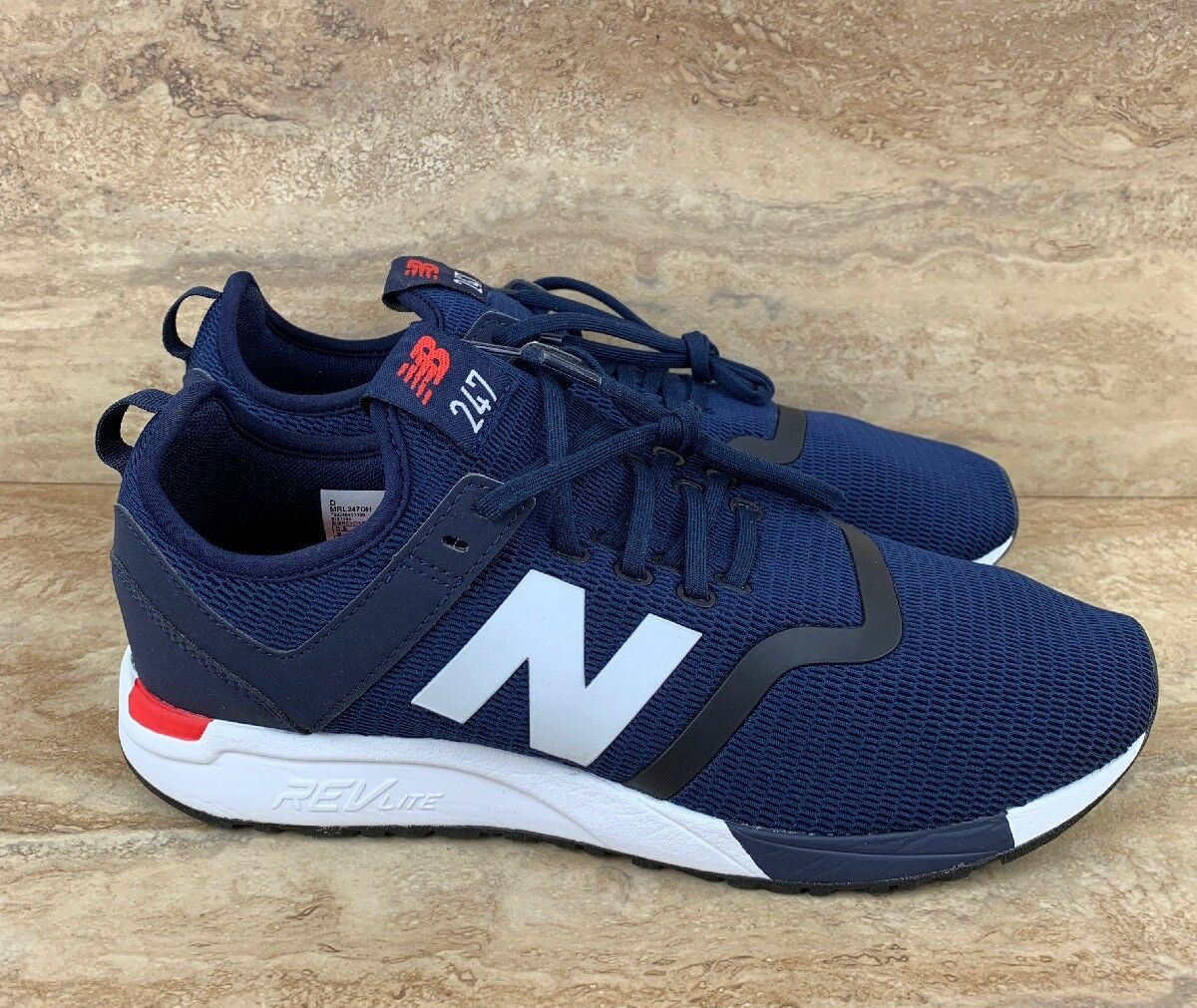 New Balance 247 Decon Men's shoes Navy White Red Running sneakers