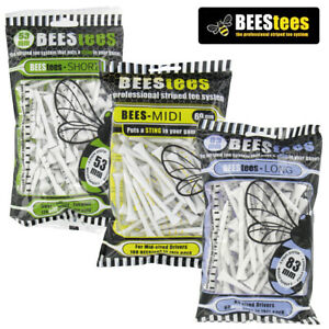 Bees-Tees-Wooden-Golf-Tee-Packs-53mm-69mm-or-83mm-NEW-2020