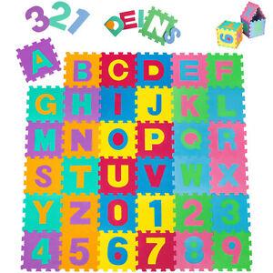 86-tlg-Puzzlematte-Kinderteppich-Spielteppich-Schaumstoffmatte-Spielmatte-Matte