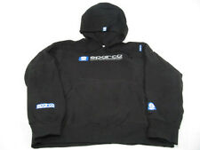 Sparco WWW Black Hoodie Sweatshirt Pullover Hoodie Large 100% Cotton Genuine NEW