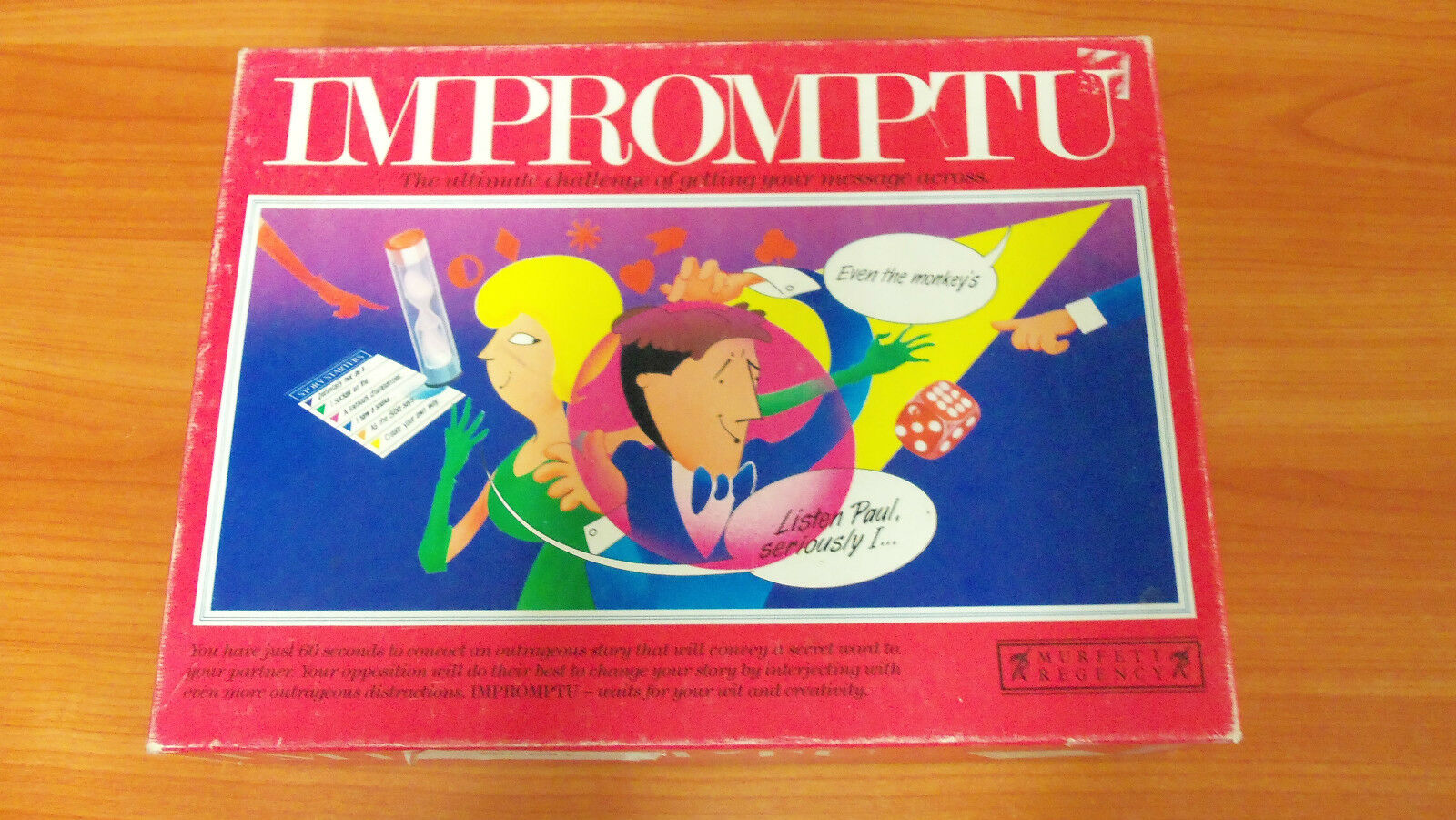 1991 Game Board Game 1991 - Impromptu - 100% Complete a694ea