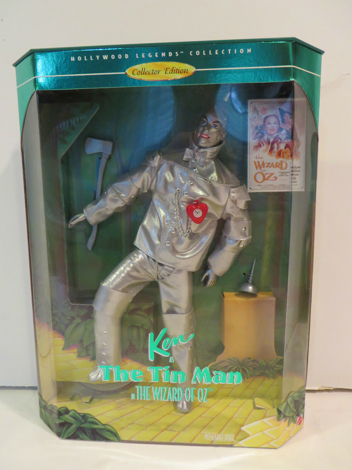 KEN AS THE TIN MAN IN THE WIZARD OF OZ