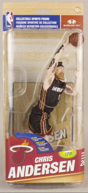 McFarlane NBA Miami Heat Series 26 Chris Andersen Silver Variant Figure