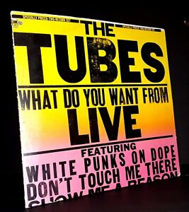 The Tubes What Do You Want From Live 2xLP A&M SP-6003 1978 record punk rock