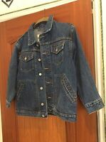 denim jacket - gap - size medium
