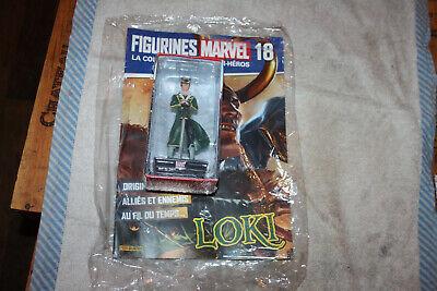 ** Figurines Marvel La Collection Des Super Heros N° 18 Loki Neuf Vivace E Grande Nello Stile