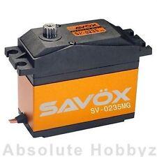 Savox High-Voltage 5th Scale Servo (.15 sec / 486oz-in) - SAV-SV-0235MG