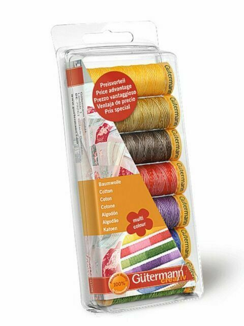 multicolore GUTERMANN thread set