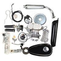 80cc Motorized Bicycle Bike Gas Powered Motorcycle 2-stroke Engine Motor Kit