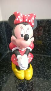 Vintage-Walt-Disney-Plastic-Minnie-Mouse-Figurine-Great-Condition