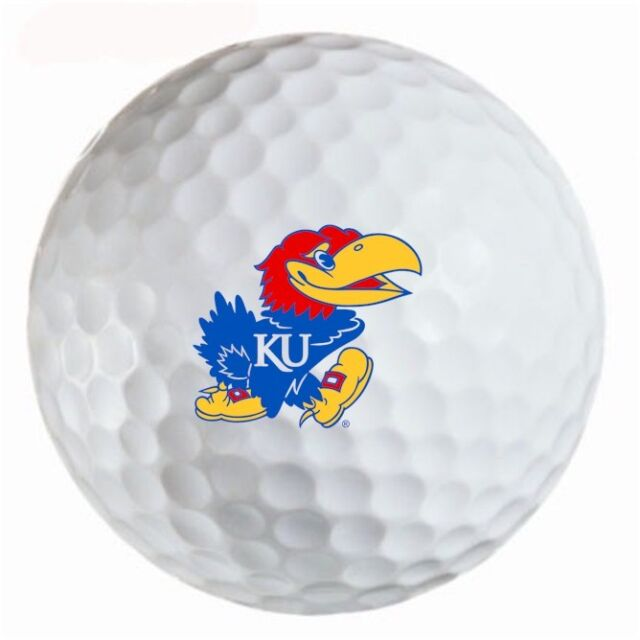 Kansas Jayhawks Titleist ProV1 Refinished NCAA Golf Balls 12 pack