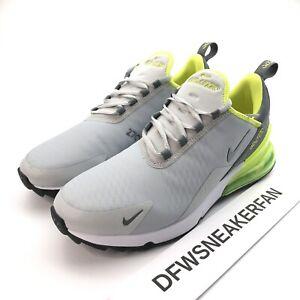 Nike Air Max 270 G Men S 9 Grey Fog White Black Smoke Grey Golf Shoes Ck6483 010 Ebay