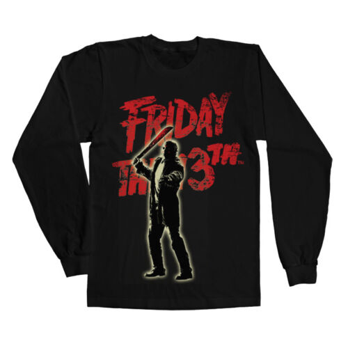 Jason Voorhees Long Sleeve Tee S-XXL Sizes Officially Licensed  Friday The 13th