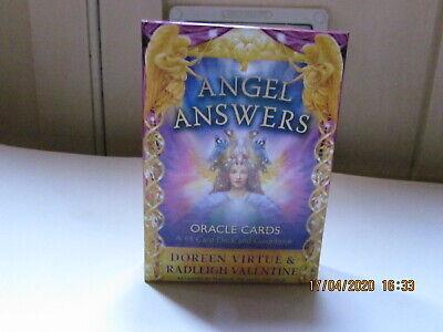 A 44 Tarot Cards Tarot Deck Angel Answers Oracle Cards