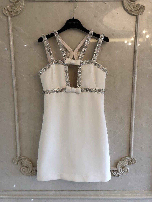 SSA 2019 summer new damen sexy beaded dress UK Stock Größe L