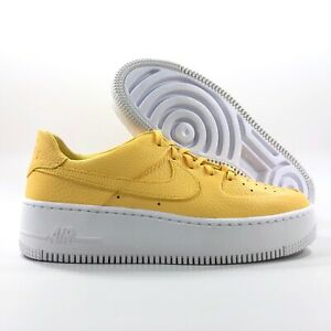 Details about Nike W AF1 Sage Low Air Force 1 Topaz Gold White AR5339 700 Women's 9