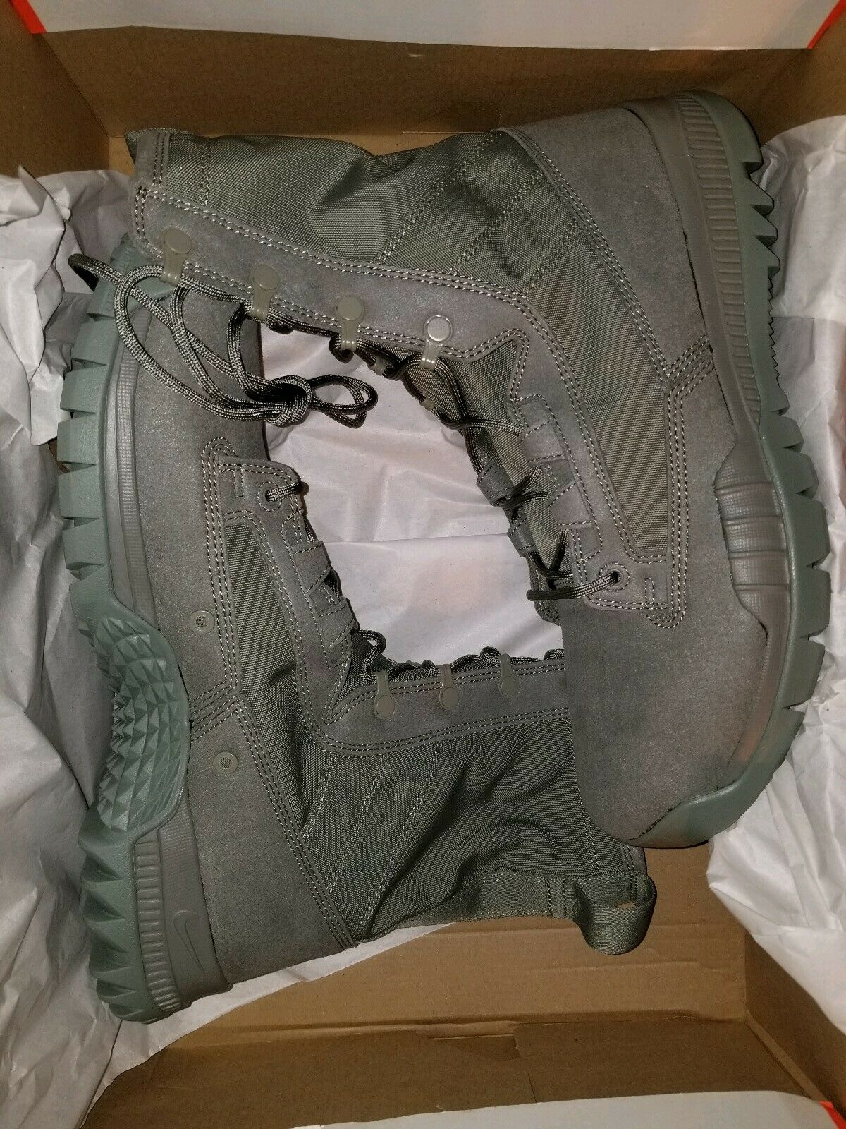 Nike Sfb Field 8  Tactical Tactical Tactical Military Police Boots Sage green 631371 222 mens 11.5 0adabe