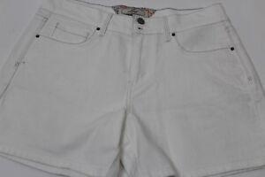Levi-039-s-Womens-Jeans-Shorts-Size-6-White-99-Cotton-1-Elastane