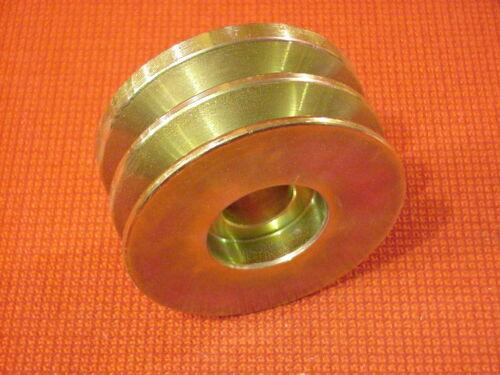 Double 2 Groove V Belt Alternator Pulley .500 X 3.346 X .874